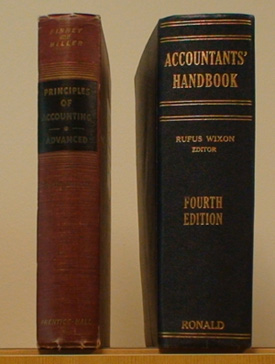 Old Accounting Books