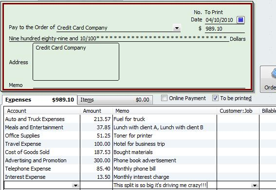 Accounting for credit card transactions in quickbooks what may seem on colourmoves
