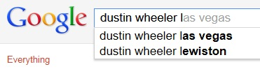 Dustin Wheeler Autocomplete L