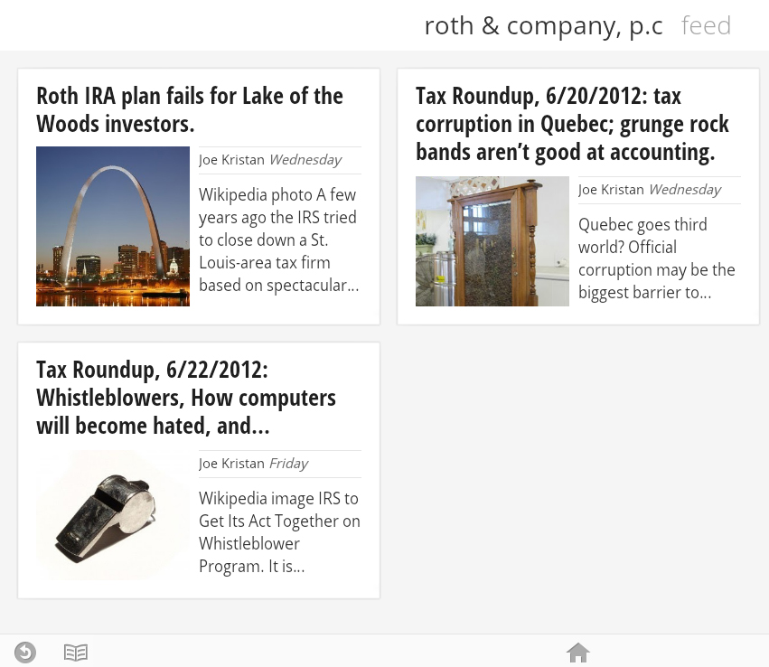 Google Currents Screenshot